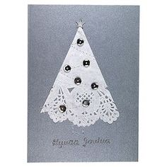 Askarteluverkkokauppa - Askartelu - Askartelutarvikkeet - Sinelli Christmas Love, Christmas Crafts For Kids, Merry Christmas, Diy Cards, Christmas Cards, Christmas Ornaments, Old Postcards, Yule, Card Making