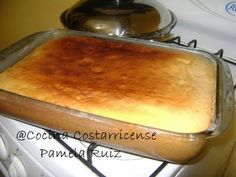 Cocina Costarricense: pan batido Costa Rican Desserts, Costa Rican Food, Cake Recipes, Dessert Recipes, Pan Bread, Bread And Pastries, Brownie Cake, Pretty Cakes, Sweet Bread