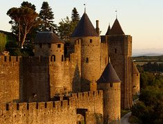 Carcassonne, France | Would you and your lover have been better born in another era, when corsets were tight, armour was polished, and likelihood of death by bubonic plague was… never mind. Step over a drawbridge and back in time to fairytale Carcassonne in southern France.