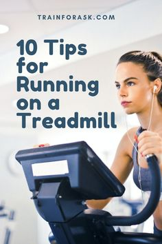 The treadmill can be a race trainer's best friend when used properly, check out these ten tips for running on a treadmill to make your workout more efficient and more enjoyable. While everyone knows how to use a treadmill to some degree, many don't realize how to get the most out of their treadmill workout or utilize it as an effective race training tool. Jogging For Beginners, Running Plan, Running For Beginners, How To Start Running, Running Tips, Treadmill Routine, Running On Treadmill, Treadmill Workouts, Fun Workouts