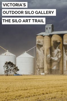 The Silo Art Trail in the Wimmera Mallee of Victoria, Australia. This picturesque gallery is spread out of 200km. #siloarttrail #silogallery #artgallery #victoriaaustralia