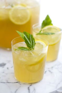 You Need to Try These Boozy Iced Tea Cocktails via @domainehome
