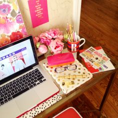 Chapter 2 Live Colorfully Story with All Things Kate Spade desk style