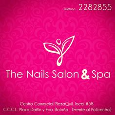 Creación de Logotipo The Nails Salon & Spa