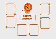 MIENTRAS APRENDO ME DIVIERTO: CARTELES EQUIPOS AULA INFANTIL 2