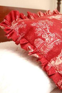 Pillow shams, Bed shams, Custom shams, ruffled shams, flanged shams, corded shams, bedding shams. Euro shams, bed skirts, dust ruffles Diy Pillows, How To Make Pillows, Blue Pillows, How To Make Bed, Pillow Ideas, Throw Pillows, Couch Cushions, Accent Pillows, Ruffle Pillow