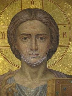 Sacred Art, Mural Art, Portrait Art, Mosaic Art, Ikon, Jesus Christ, Medieval, Cathedral, Saints