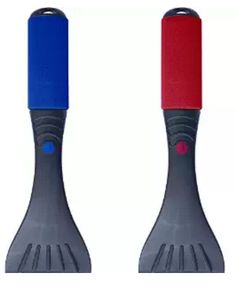 Premium Ice Scraper Set - 2 Pack - For Car Windshield & Windows - Foam Handle - Extra Sharp and Scratch-free Chisel Blade & De-ice Crusher Tool for Best Frost Scraping & Hard Snow Removal - Colors Red & Blue: Automotive Window Squeegee, Ice Scraper, Thing 1, Auto Glass, Snow And Ice, Car Accessories, Red And Blue, Winter, Frost