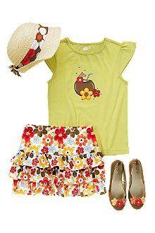 Coconut Paradise-- Crazy 8 outfit