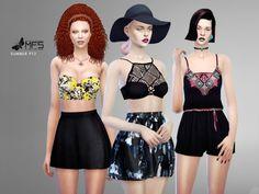 MFS Summer Set Part 2 by MissFortune at TSR via Sims 4 Updates