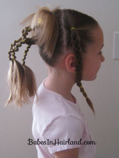 Crazy Hair Day Styles-since I am guilty for breaking the rules with my kids on crazy hair day! No hair color? Whoopsie!