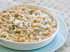Rosemary White Beans with Fontina