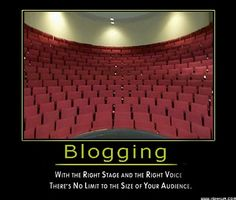 Blogging Tips- Vision, Voice and networking