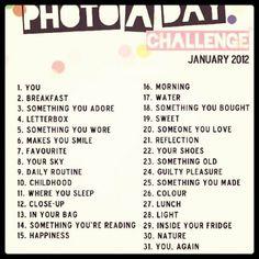Photography Challenge...Gab/Suz/Carol....a good idea for homework