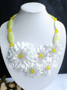 Free Shipping, New Fashion Wrap Flower Necklace LK-973 $77.37
