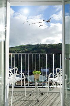 The apARTment is a stylish and unique two bedroom holiday accommodation in Dartmouth, Devon with parking, great views and an award winning garden. Dartmouth Devon, Garden Studio, Holiday Accommodation, Great View, Park, Parks
