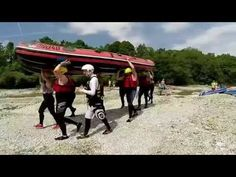 Rafting Isar in Lenggries mit Montevia - YouTube