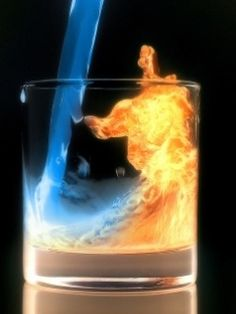 water and fire wallpaper