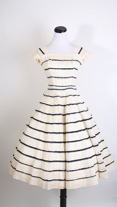 Crochet Lace Dress  1950s Wedding Dress  Mad Men  by aiseirigh, $178.00. Yeah, I'd wear it even if I wasn't getting married.