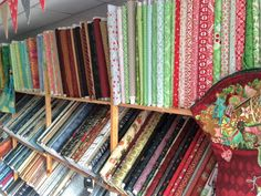 So much fabric to choose from!