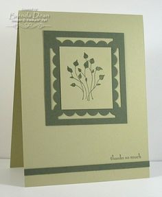 Framed Pocket Silhouettes by bdindle - Cards and Paper Crafts at Splitcoaststampers