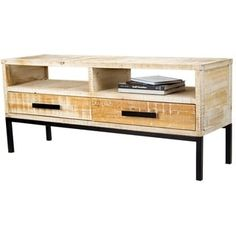 Shop For Heather Ann Creations Dillon 2 Shelf, 2 Drawer TV Stand.