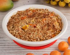 Tropical Fruit Crumble