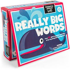 Really Big Words for Kids by Magnetic Poetry - $22.95