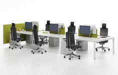 Meervoudige werkplek | Brokx projectinrichting