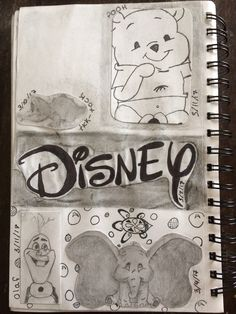 This is my unfinished Disney page. What should I do to finish off the corner??