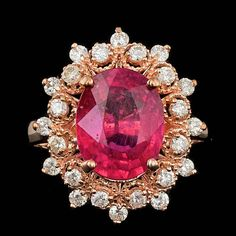 Rate this from 1 to Ruby Rings As Seen in VOGUE Ruby Ring / Engagement… 44 Vintage-Inspired Engagement Rings Rose Gold Ruby and Diamond Circular Ruby Diamond Rings, Blue Topaz Diamond, Silver Diamonds, Ruby Rings, Antique Jewelry, Vintage Jewelry, Saphir Rose, Rose Gold Jewelry, Jewelry Rings