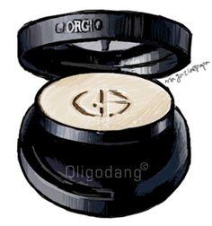 #oligodang #cosmetic #makeup #hair #K-beauty 올리고당 메이크업 조르지오아르마니 래스팅 실크 UV 컴팩트 파운데이션