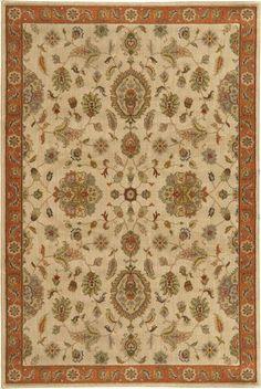 Oriental Weavers Casablanca 5317B Beige/Rust Area Rug – Incredible Rugs and Decor