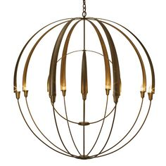 'Double Cirque Large Scale Chandelier by Hubbardton Forge. @2Modern'