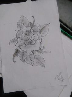 #rose #flower #draw #myart