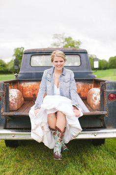 Country Bride Jean Jacket