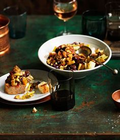 Caponata Recipe | River Cafe | Ruth Rogers | Gourmet Traveller #eggplant #Italian_Recipes #Sicilian