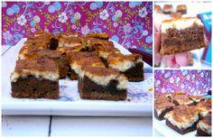 Brownies con mascarpone