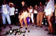 Dancehall Session, House Of leo, Kingston Jamaica, 1994. #JamaicaDancehall Photo © Wayne Tippetts