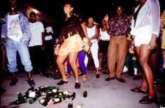 Dancehall Session, House Of leo, Kingston Jamaica, 1994. #JamaicaDancehall Photo © Wayne Tippetts