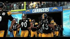 """PITTSBURGH STEELERS~nike """"Fate: Leave Nothing"""". David Fincher directs the life-long journey of pro football players LaDainian Tomlinson and Troy Polamalu as their destinies collide in an NFL football game. Football Trophies, Nfl Football Games, Football Love, Nike Football, Football Humor, Soccer Humor, Football Shirts, Football Players, Ladainian Tomlinson"""
