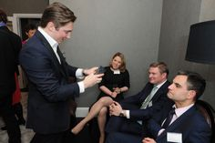 Flemings Mayfair suites and apartments launch party #Entertainment #Magician