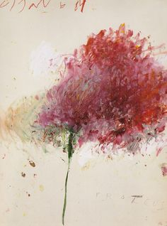 by Cy Twombly.