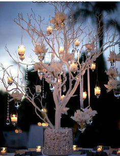 Wedding Decorations White or Ivory Manzanita Wedding Centerpiece Trees no bases - Wedding Table, Diy Wedding, Wedding Flowers, Wedding Ideas, Garden Wedding, Trendy Wedding, Rustic Wedding, Wedding Car, Blue Wedding