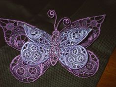 Flutter Butterfly     Lupus Donation. via Etsy.