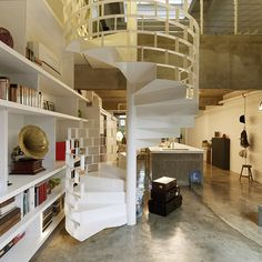 My fascination with staircases grows every minute- I am totally having one in my future house