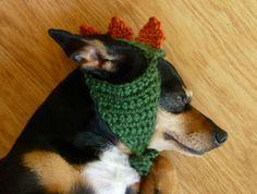 Dinosaur Dog Hat Dino Dog Costume Pet Clothes Dog by zxcvvcxz