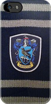 Harry Potter Ravenclaw Badge iPhone Case @ RedBubble ($34.10)