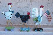 Chicken Parade - Angel Thyme Designs - By Shara Reiner CDA