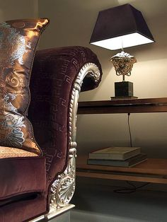 Versace Home - chocolate, gold, silver, fabric's